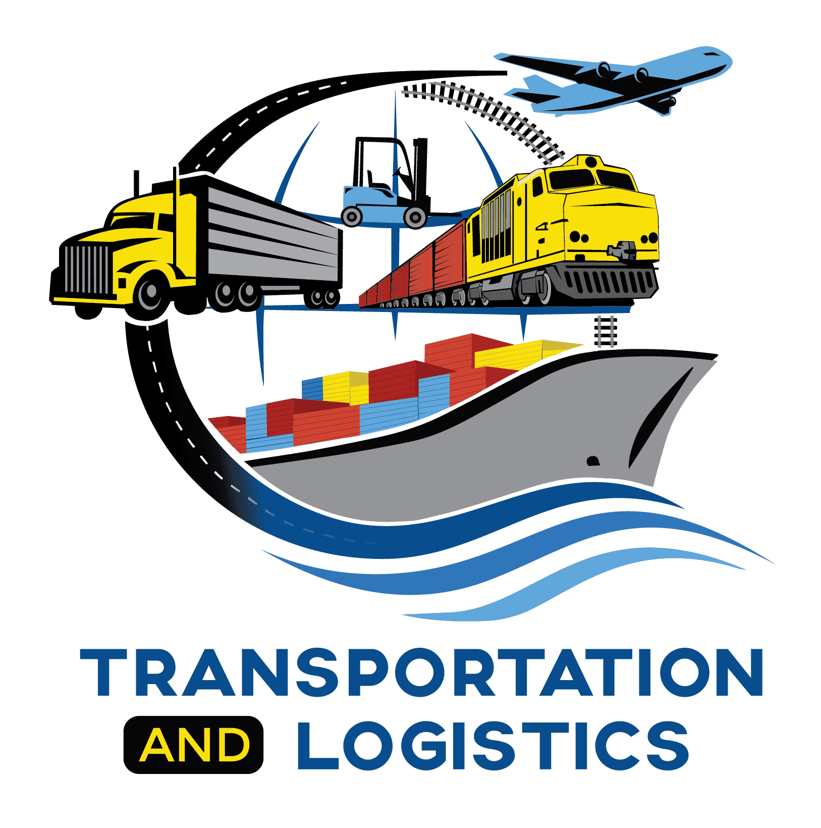 Transportation and Logistics Logo